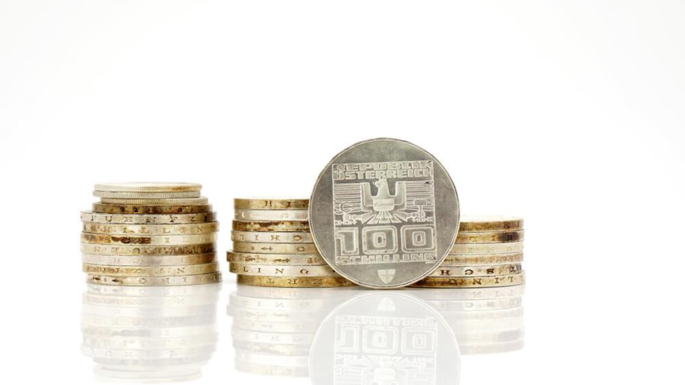 Silber verkaufen - Silber Ankauf