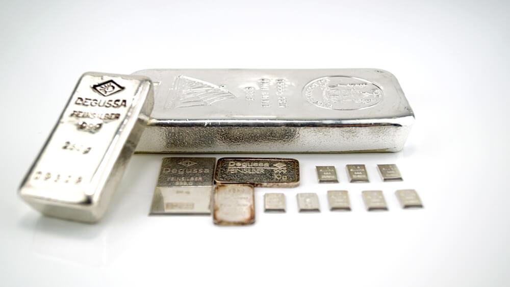 Silberbarren verkaufen – silberbarren ankauf