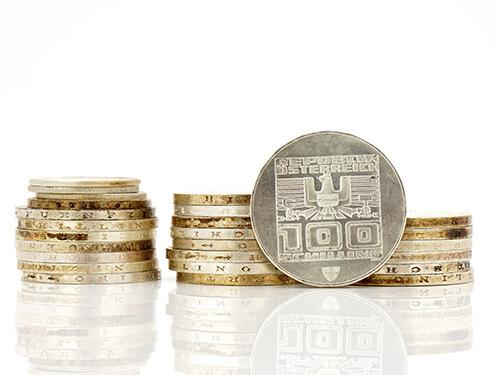 Silbermünzen verkaufen - tafelsilber ankauf