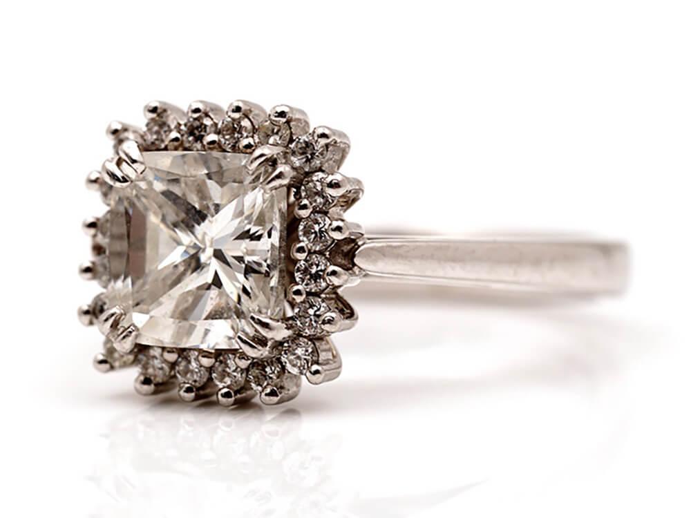 Diamant Ring verkaufen - Diamant ring ankauf