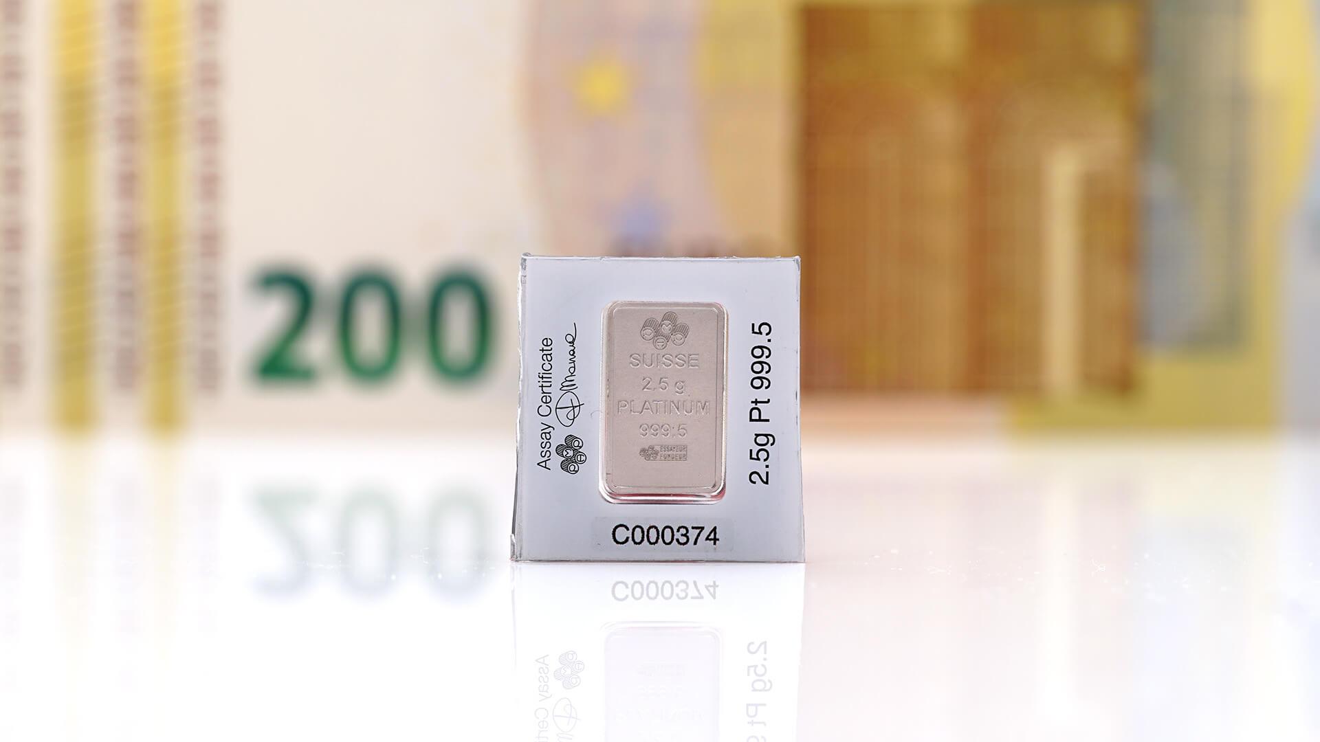 Platin Preis - Platinpreis aktuell - Ankaufspreise Platin Wert pro Gramm