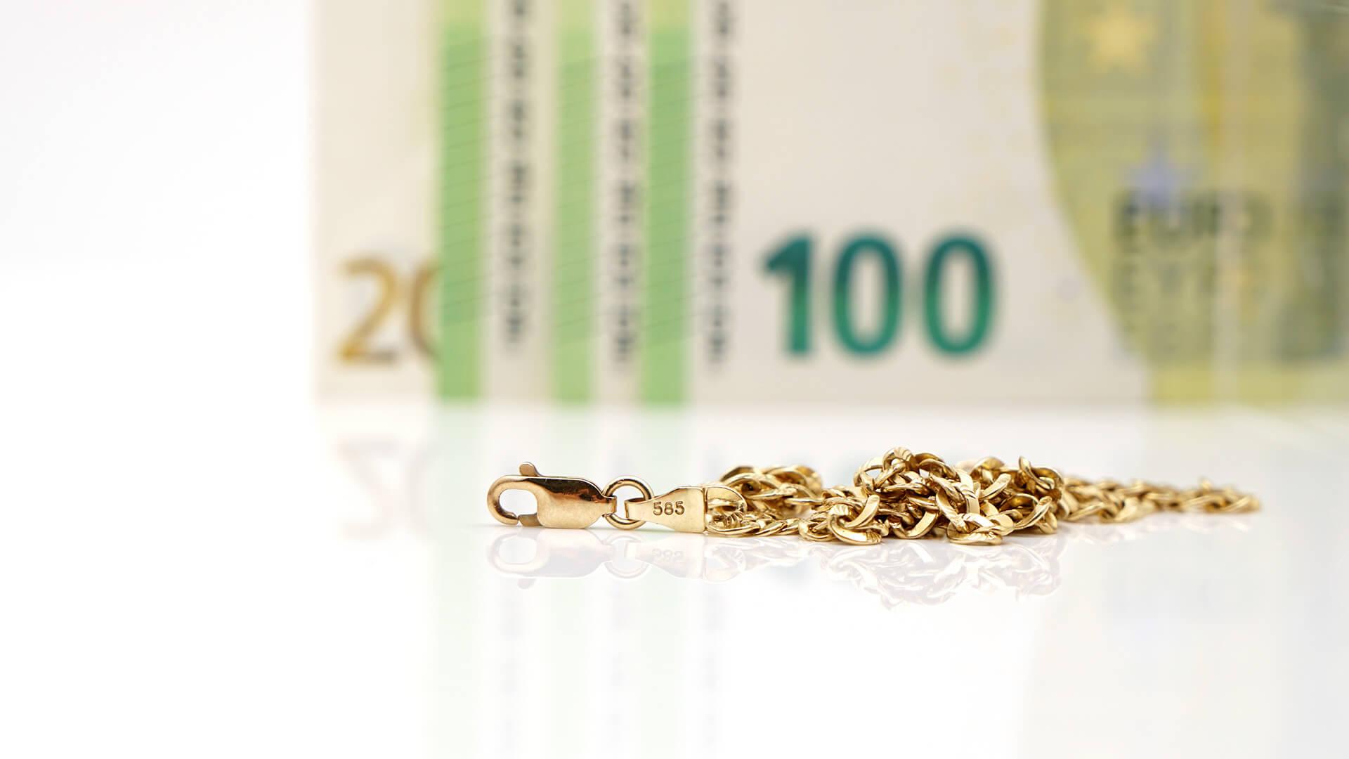 585 Gold Preis im Ankauf Verkauf - 585 Gold Wert pro Gramm