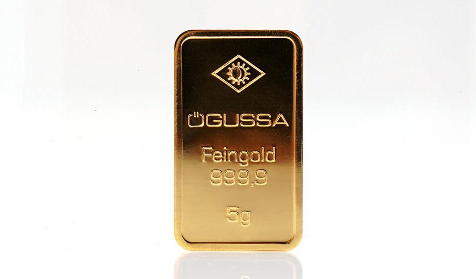 Ögussa Goldbarren Ankauf - Verkauf