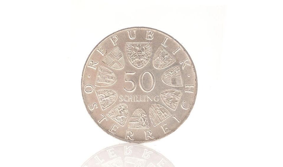 Schilling Silbermünze verkaufen